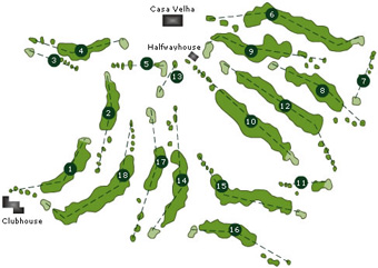 Course Map Palheiro Golf Course